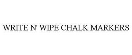 WRITE N' WIPE CHALK MARKERS