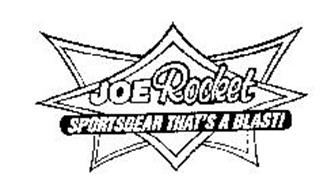 Joe rocket sportsgear that s a blast trademark amp brand information
