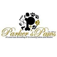 P PARKER'S PAWS A LUXURIOUS BREEDING & GROOMING SALON AND RESORT EST. 2016