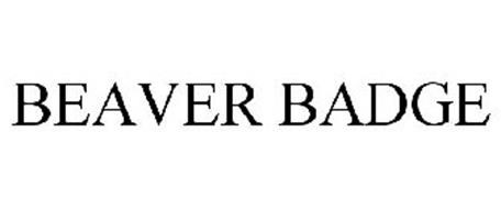 BEAVER BADGE