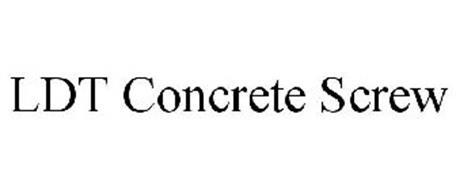 LDT CONCRETE SCREW