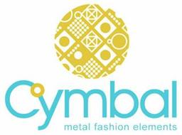 CYMBAL METAL FASHION ELEMENTS