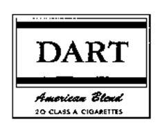 DART AMERICAN BLEND 20 CLASS A CIGARETTES