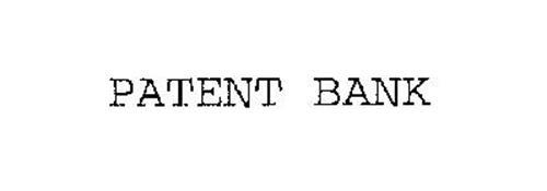 PATENT BANK