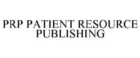 PRP PATIENT RESOURCE PUBLISHING