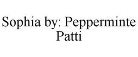 SOPHIA BY: PEPPERMINTE PATTI