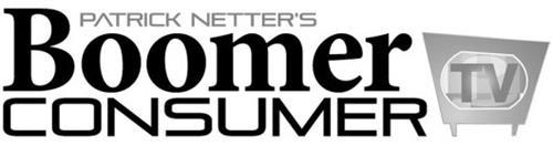 PATRICK NETTER'S BOOMER CONSUMER TV