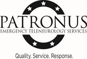 PATRONUS EMERGENCY TELENEUROLOGY SERVICES QUALITY. SERVICE. RESPONSE.