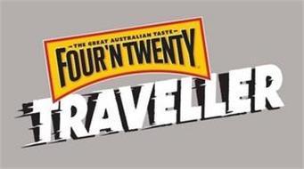 THE GREAT AUSTRALIAN TASTE FOUR'N TWENTY TRAVELLER