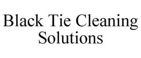 BLACK TIE CLEANING SOLUTIONS