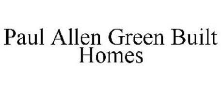 PAUL ALLEN GREEN BUILT HOMES
