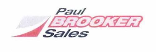 PAUL BROOKER SALES
