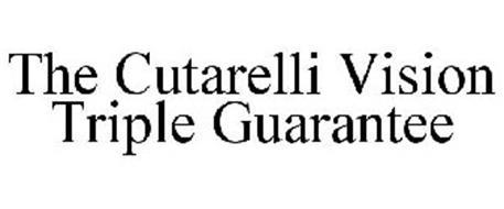 THE CUTARELLI VISION TRIPLE GUARANTEE
