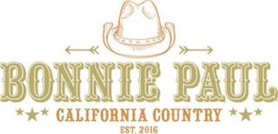 BONNIE PAUL CALIFORNIA COUNTRY EST. 2016