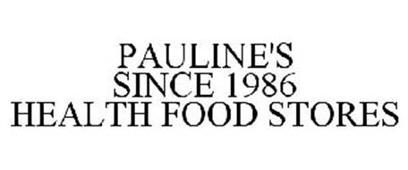 PAULINE'S SINCE 1986 HEALTH FOOD STORES