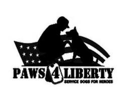 PAWS 4 LIBERTY SERVICE DOGS FOR HEROES