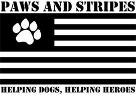 PAWS AND STRIPES HELPING DOGS, HELPING HEROES