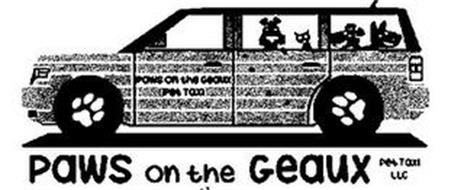 PAWS ON THE GEAUX PET TAXI PAWS ON THE GEAUX PET TAXI LLC