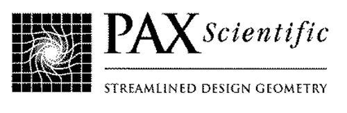 PAX SCIENTIFIC STREAMLINED DESIGN GEOMETRY