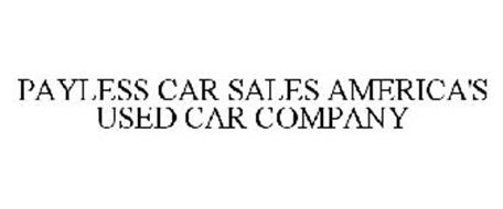 PAYLESS CAR SALES AMERICA'S USED CAR COMPANY