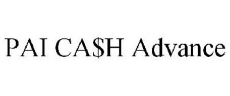 PAI CA$H ADVANCE