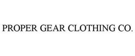 PROPER GEAR CLOTHING CO.
