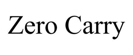 ZERO CARRY