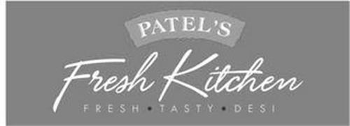 PATEL'S FRESH KITCHEN FRESH · TASTY · DESI