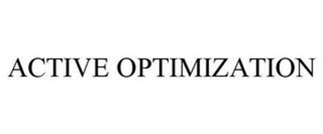 ACTIVE OPTIMIZATION