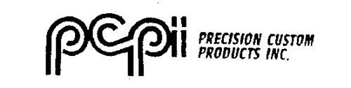 PCPI PRECISION CUSTOM PRODUCTS INC.