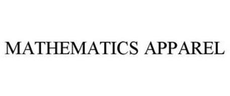 MATHEMATICS APPAREL