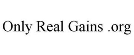 ONLY REAL GAINS .ORG