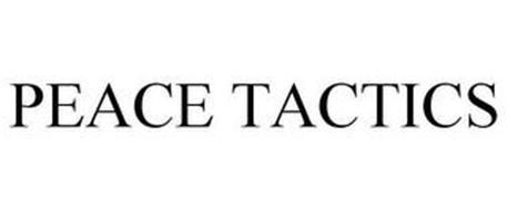 PEACE TACTICS