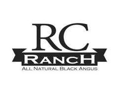 RC RANCH ALL NATURAL BLACK ANGUS
