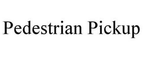 PEDESTRIAN PICKUP