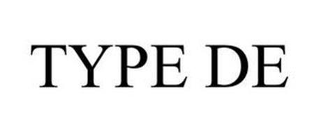 TYPE DE