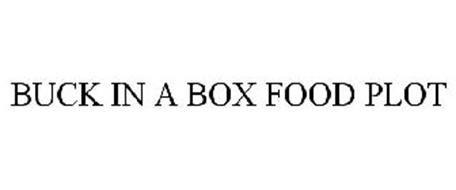 BUCK IN A BOX FOOD PLOT