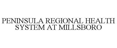 PENINSULA REGIONAL HEALTH SYSTEM AT MILLSBORO