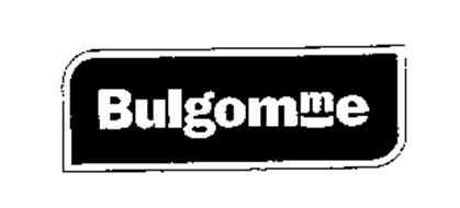 bulgomme trademark of pennel industries s a serial. Black Bedroom Furniture Sets. Home Design Ideas
