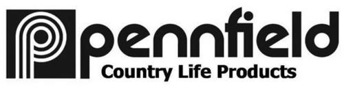 P PENNFIELD COUNTRY LIFE PRODUCTS