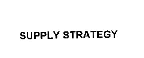 SUPPLY STRATEGY