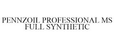 PENNZOIL PROFESSIONAL MS FULL SYNTHETIC