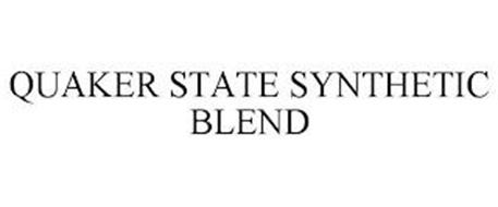 QUAKER STATE SYNTHETIC BLEND