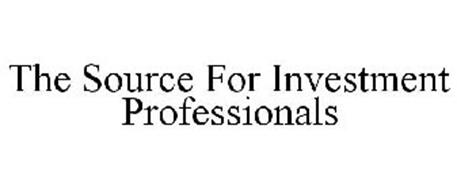 THE SOURCE FOR INVESTMENT PROFESSIONALS