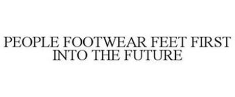 PEOPLE FOOTWEAR FEET FIRST INTO THE FUTURE