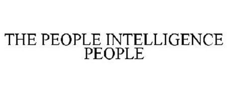 THE PEOPLE INTELLIGENCE PEOPLE