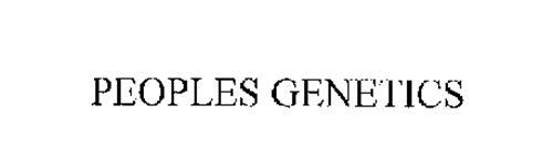 PEOPLES GENETICS