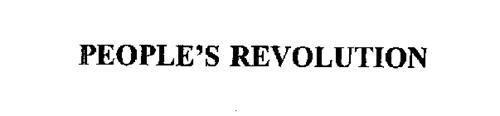 PEOPLE'S REVOLUTION