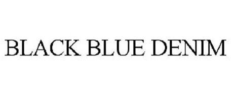 BLACK BLUE DENIM