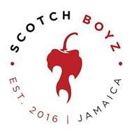 SCOTCH BOYZ EST. 2016 JAMAICA